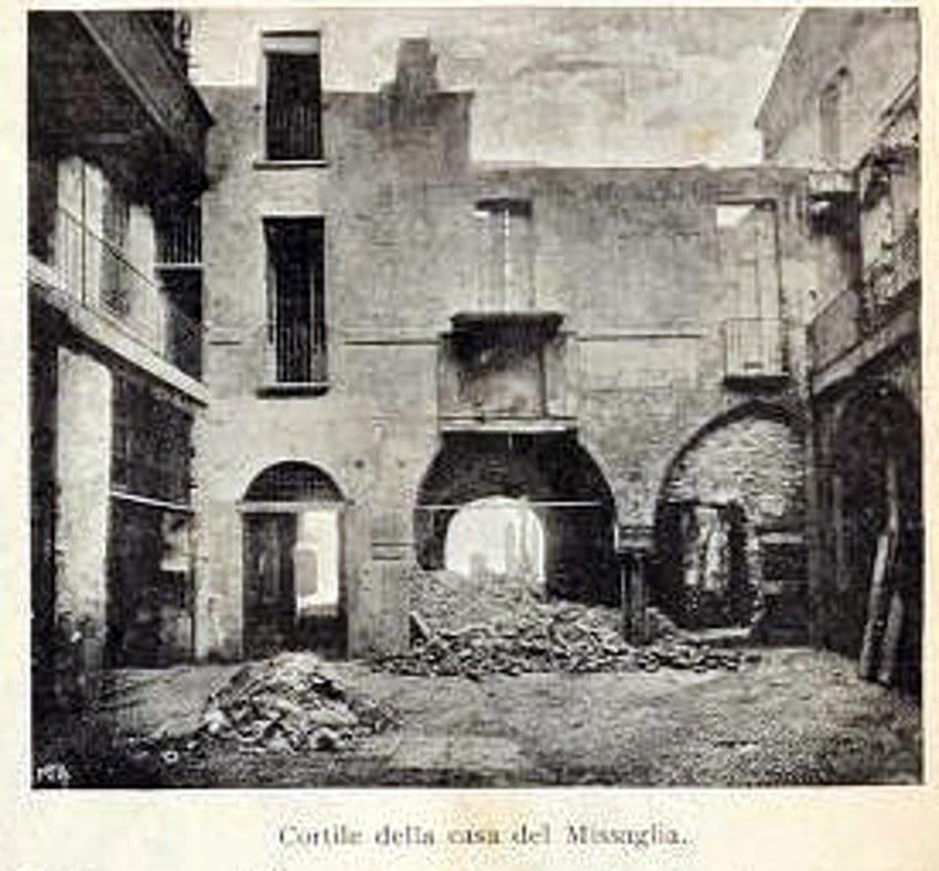 Casa dei Missaglia via Spadari 12, 1902 A