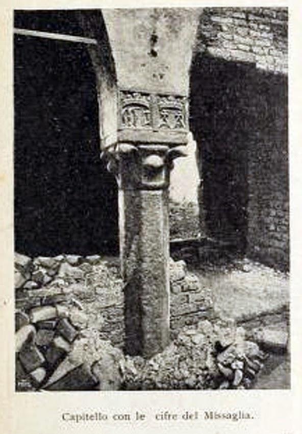Casa dei Missaglia via Spadari 12, 1902 B
