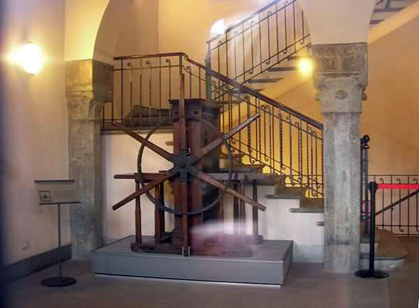 Castello resti casa Miassaglia Raccolta Bertarelli