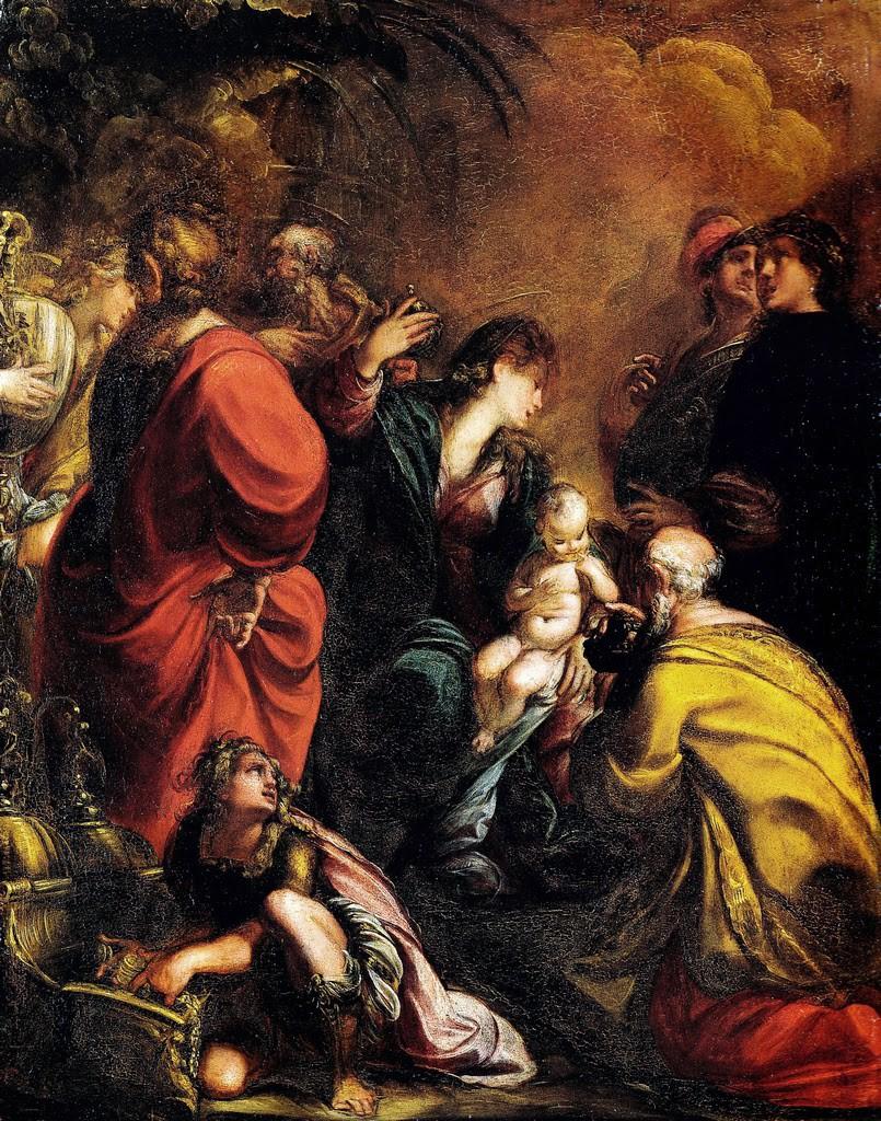 Procaccini Giulio CesareAdorazione dei Magi 1605