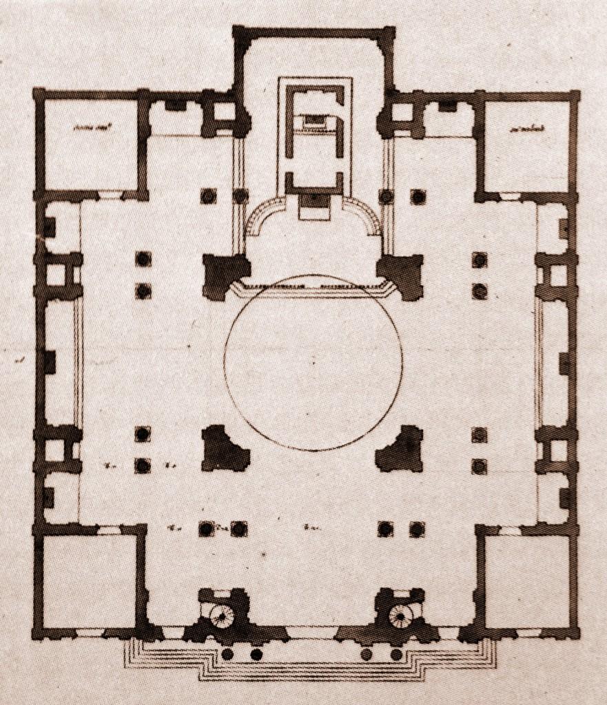 10-7 Francesco Maria Richini, Santuario e Monastero della Madonna di Loreto Progetto non realizzato 2