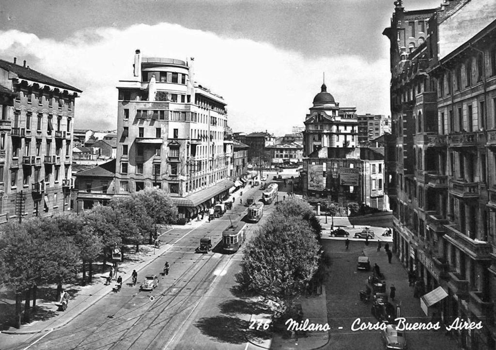 Piazza Argentina nel 1954