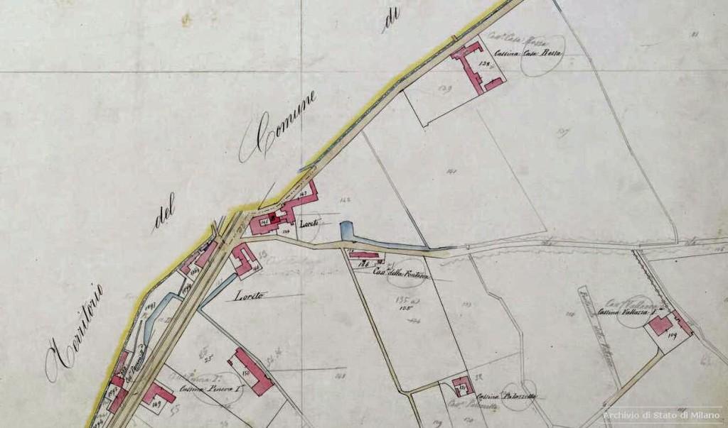 7-5 Catasto Lombardo Veneto (mappe del Catasto Urbano), 1866-1875 circa