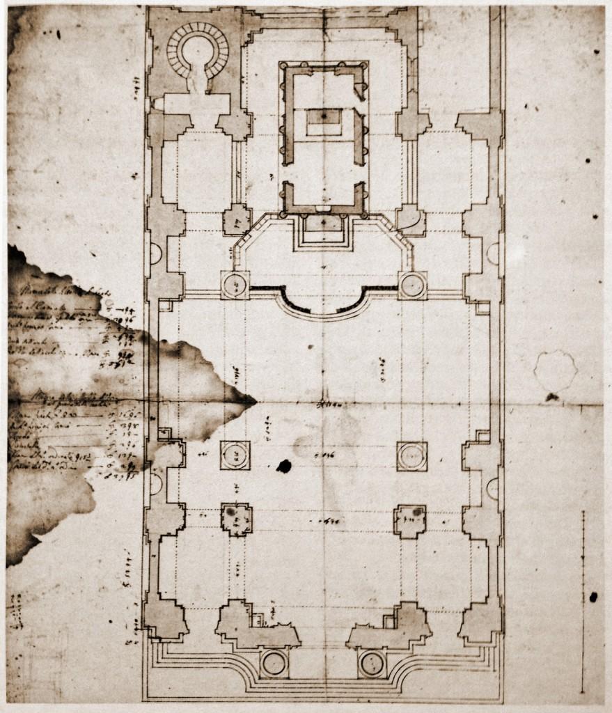 9-6 Francesco Maria Richini, Santuario e Monastero della Madonna di Loreto Progetto realizzato