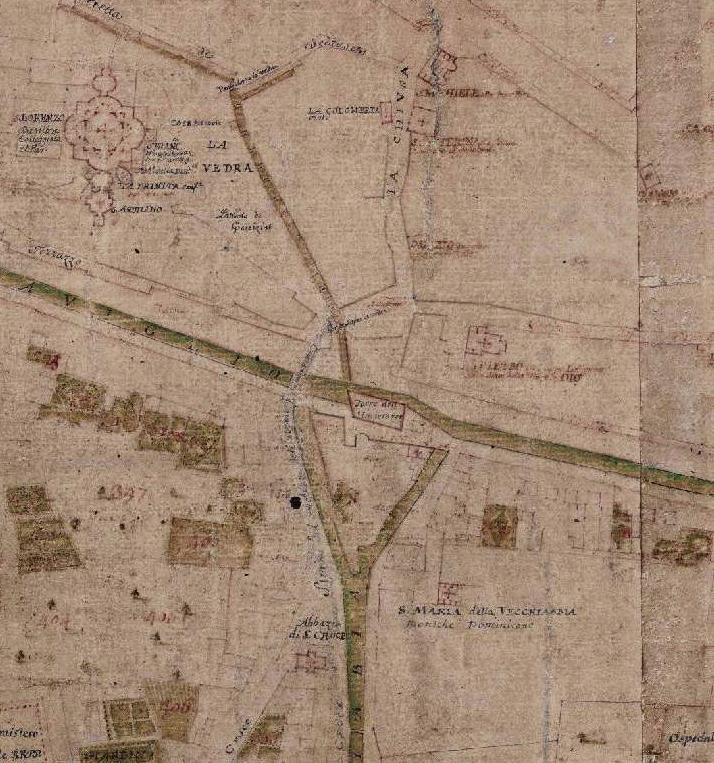 1722 Milano piantina