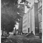 Architetto Mario Bacciocchi, anno 1938 Gruppo Rionale Benito Mussolini Viale Ceresio 12