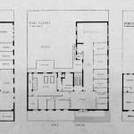 Architetto Mario Bacciocchi, anno 1938 Piantine Gruppo Rionale Benito Mussolini Viale Ceresio 12