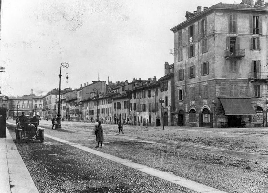 Milano Porta Vittoria Milano Sparita Il Borgo Di