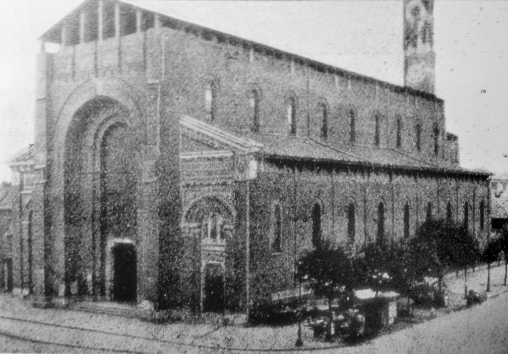 OLD Chiesa di Sant'Andrea nel 1920 circa