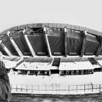 Palasport dopo la nevicata del 1985