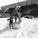 Palasport dopo la nevicata del 1985 B