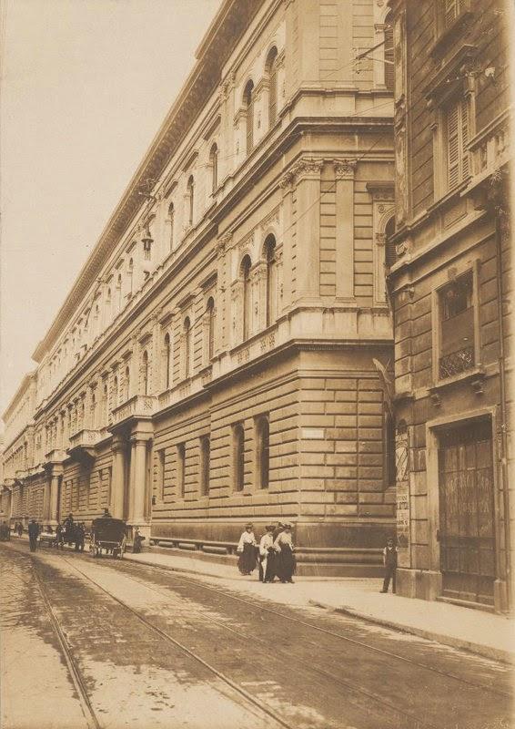 Palazzo Turati in via Meravigli nel 1903