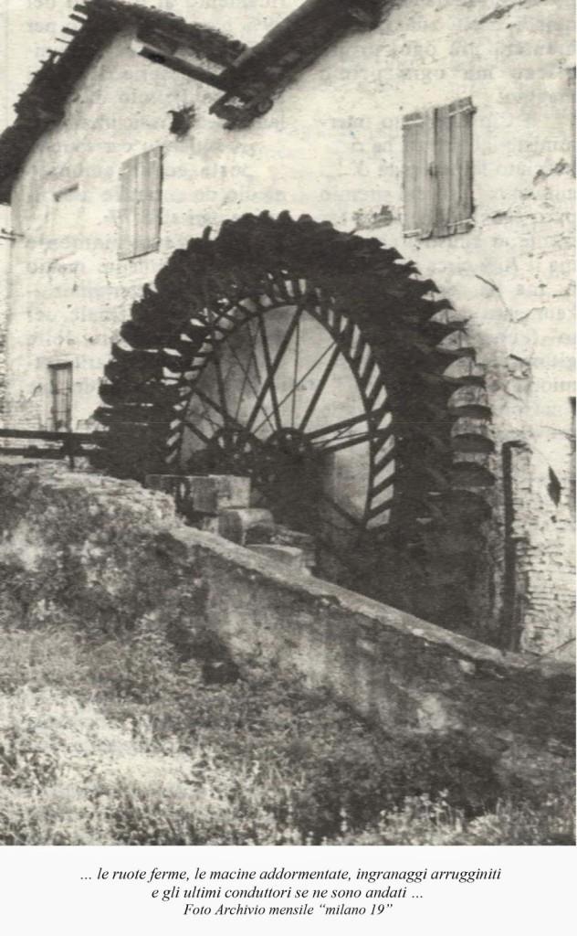 La cascina Molino Dorino nel 1989 C