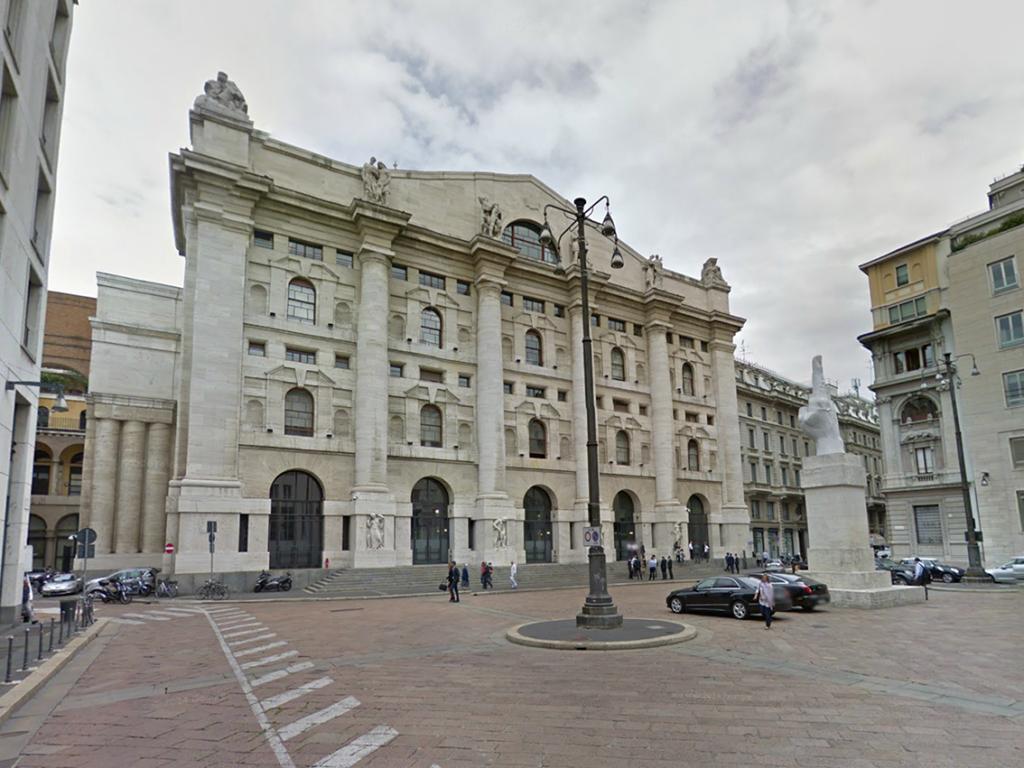 Piazza Affari Palazzo Borsa