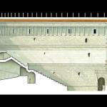 Piazza Affari e teatro romano 3 Spaccato