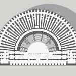 Piazza Affari e teatro romano 4 piantina