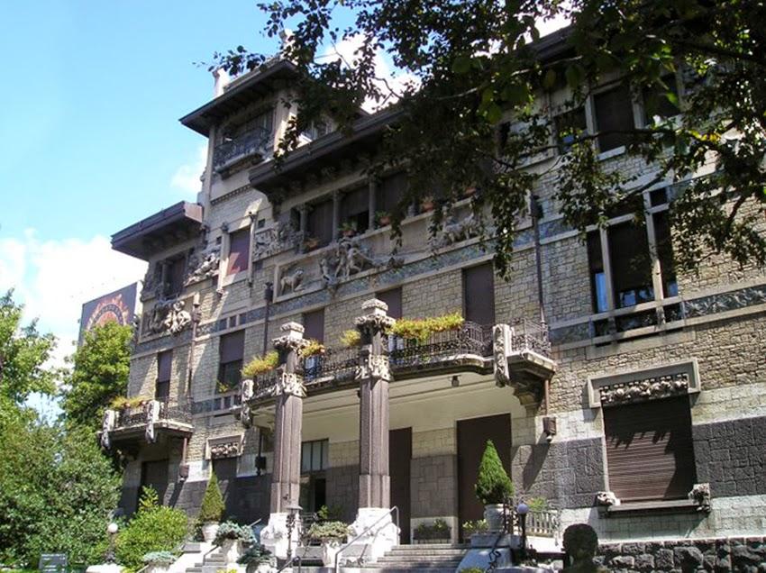 Villa Romeo ora Clinica Columbus 1 - 10 самых престижных районов Милана