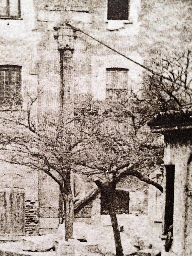 2-Laghetto di Santo Stefano - particolare della gru o falconetto