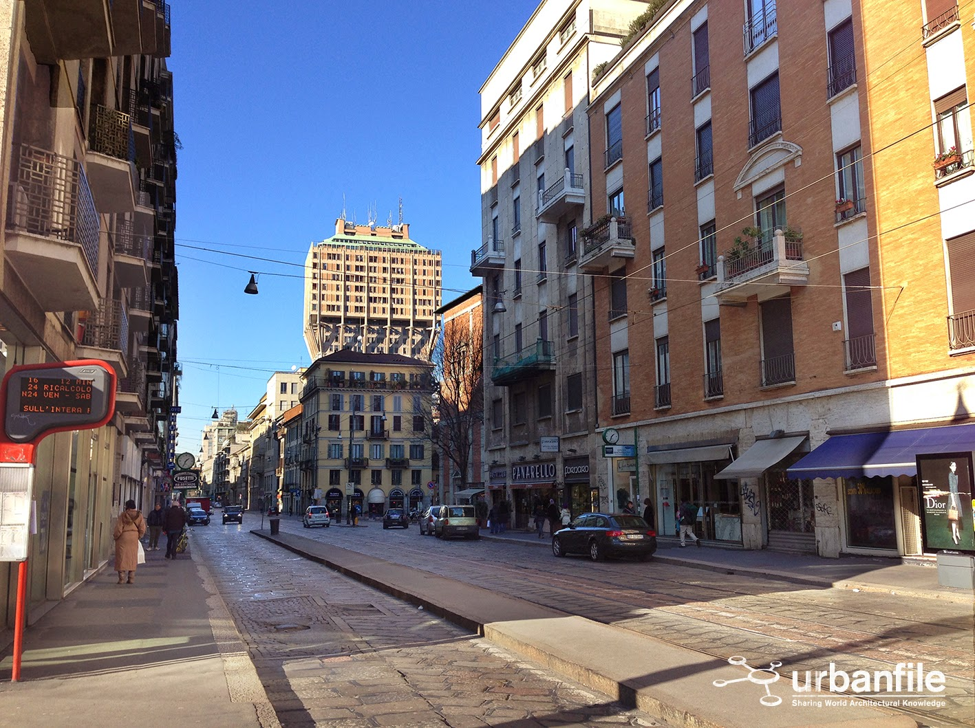Milano porta romana la scomparsa porta medievale for Corso di porta genova milano