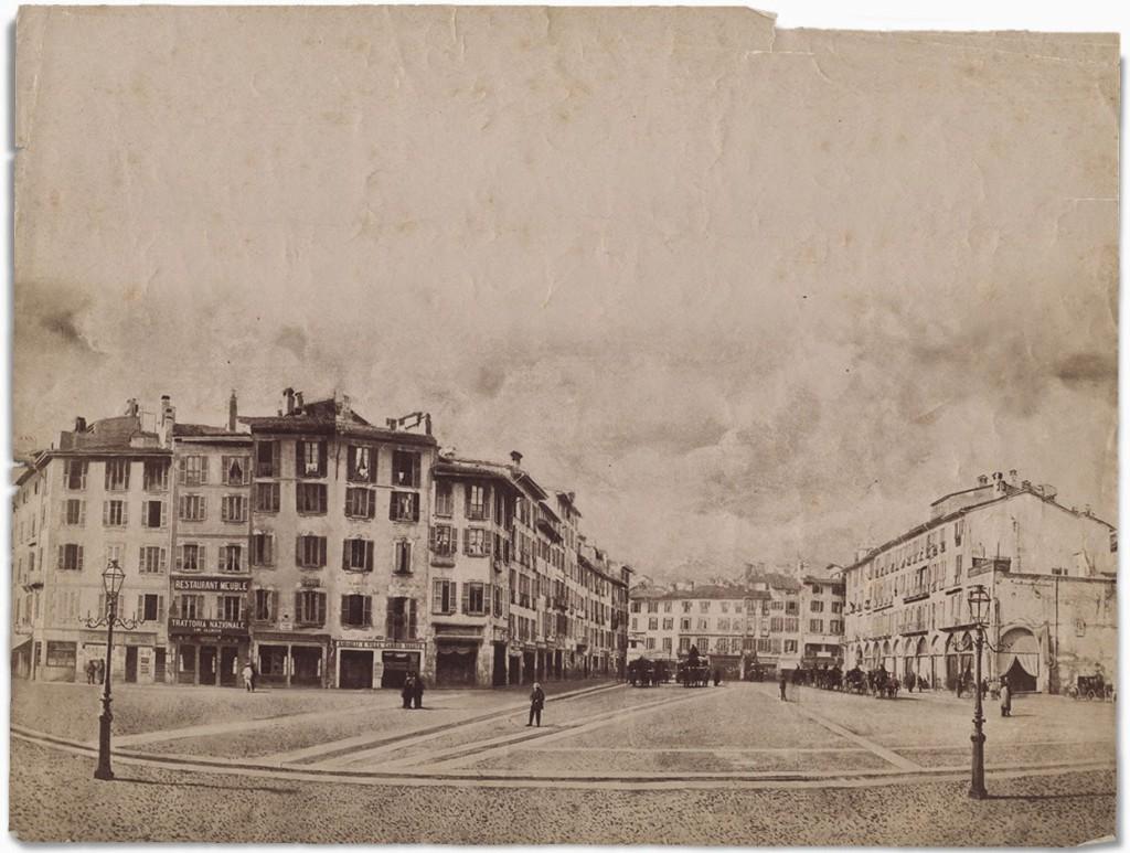 Alessandro Duroni Piazza Duomo 1859