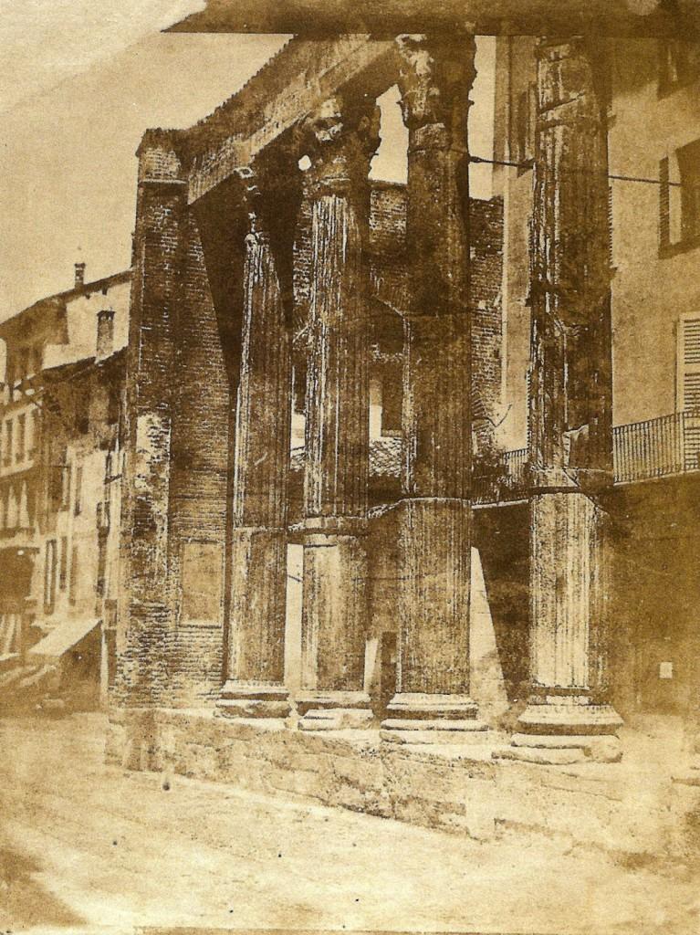 Luigi Sacchi Colonne di San Lorenzo a Milano, 1845