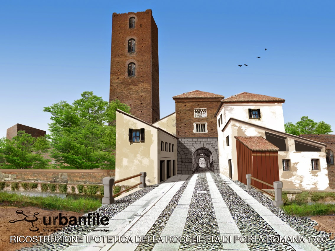 Milano porta romana la scomparsa porta medievale - Stanza singola milano porta romana ...