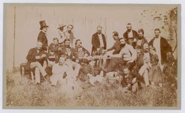 luigi sacchi foto di gruppo milano 1845