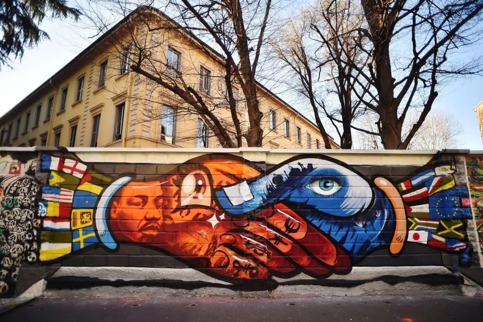 Milano turro i murales di via padova urbanfile blog for Ristorante murales milano