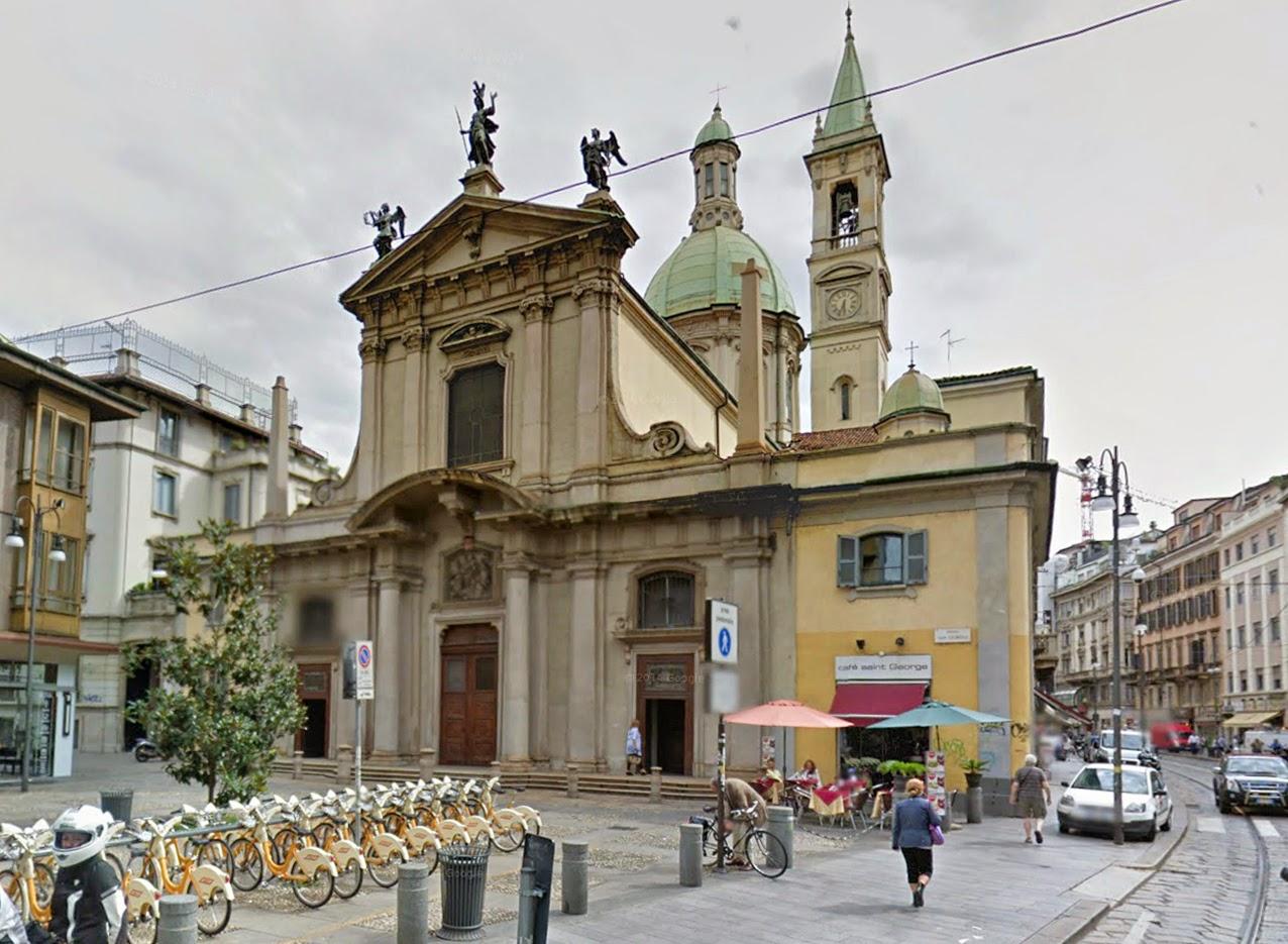 Milano centro storico san giorgio al palazzo un for Giorgio iv milano