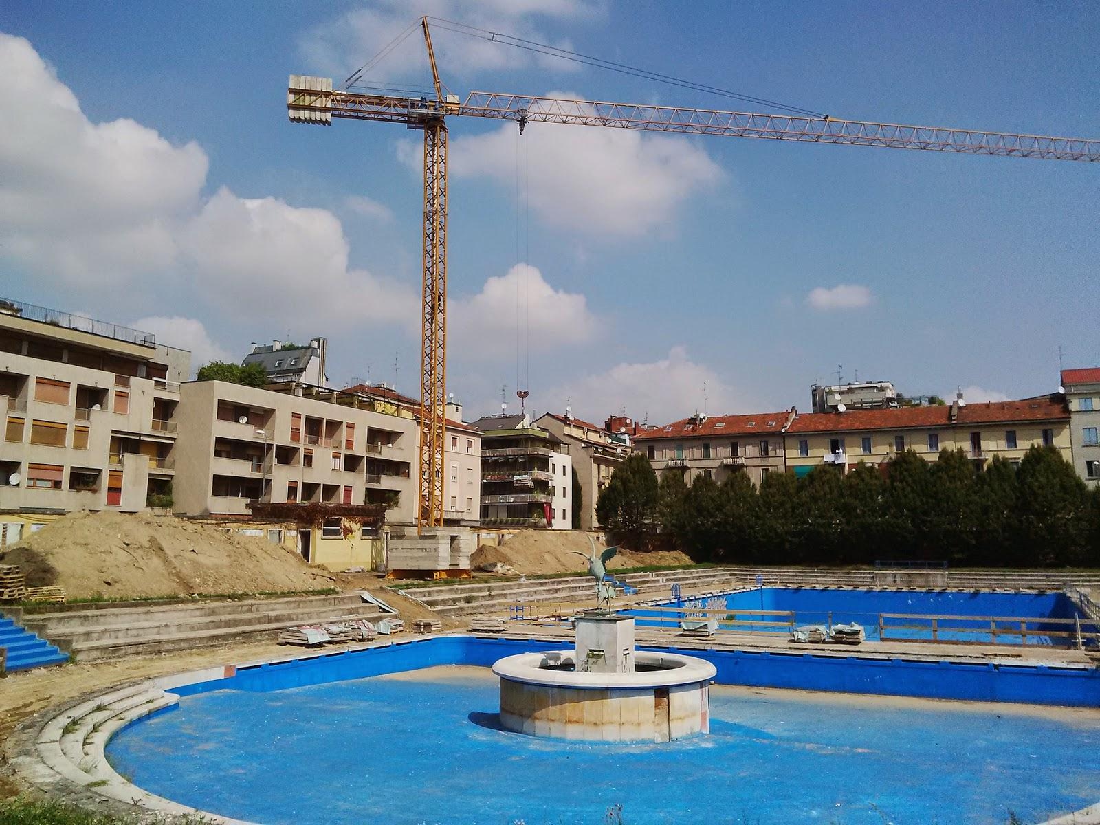 Milano porta romana partiti i lavori alla piscina caimi urbanfile blog - Milano sport piscine ...