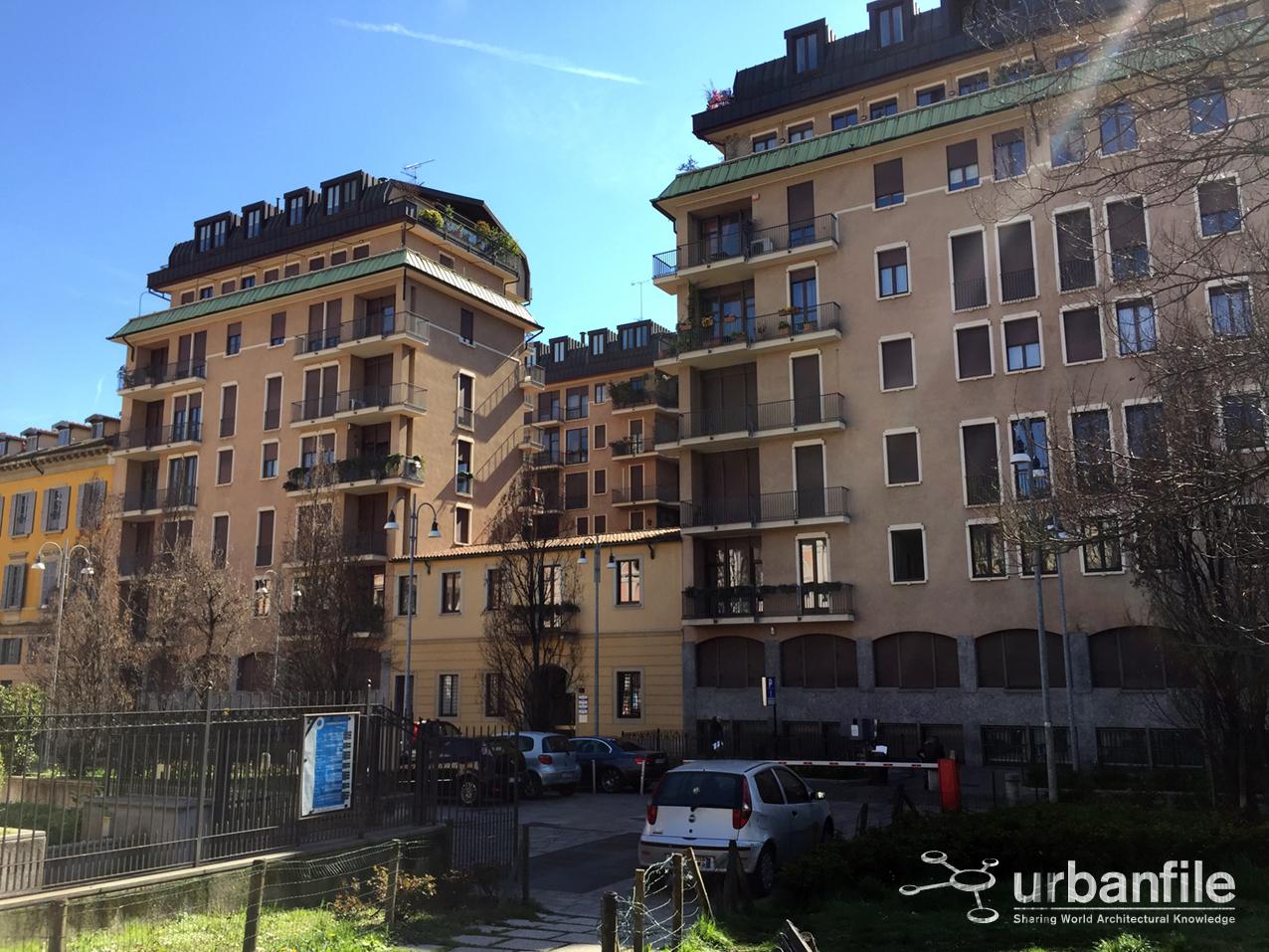 Milano castello palazzo dal verme il bel cortile del for Piani di palazzi contemporanei