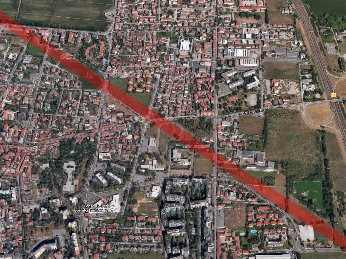 Milano Area Metropolitana Nord Est La M2 Verso