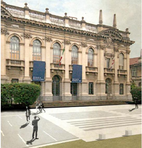 Piazza Lenardo Da Vinci Progetto 3