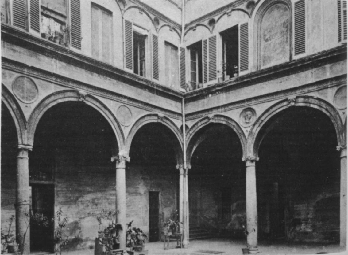 Milano cinque vie quell 39 orrore del garage sanremo for Planimetrie del palazzo con sala da ballo
