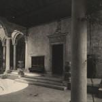 Corso Magenta Casa Atellani 1925 portico cortili Portaluppi