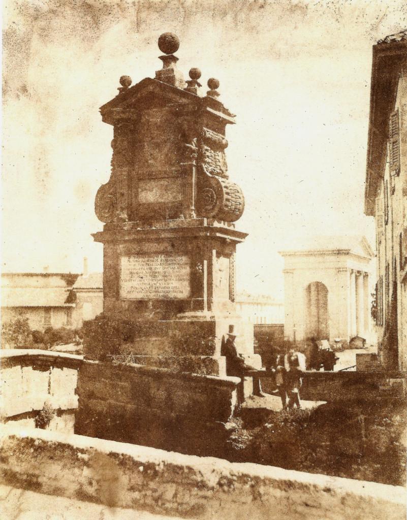 Il Trofeo Fuentes al Ponte del Trofeo Fuentes alla Darsena Luigi Sacchi 1845 Circa