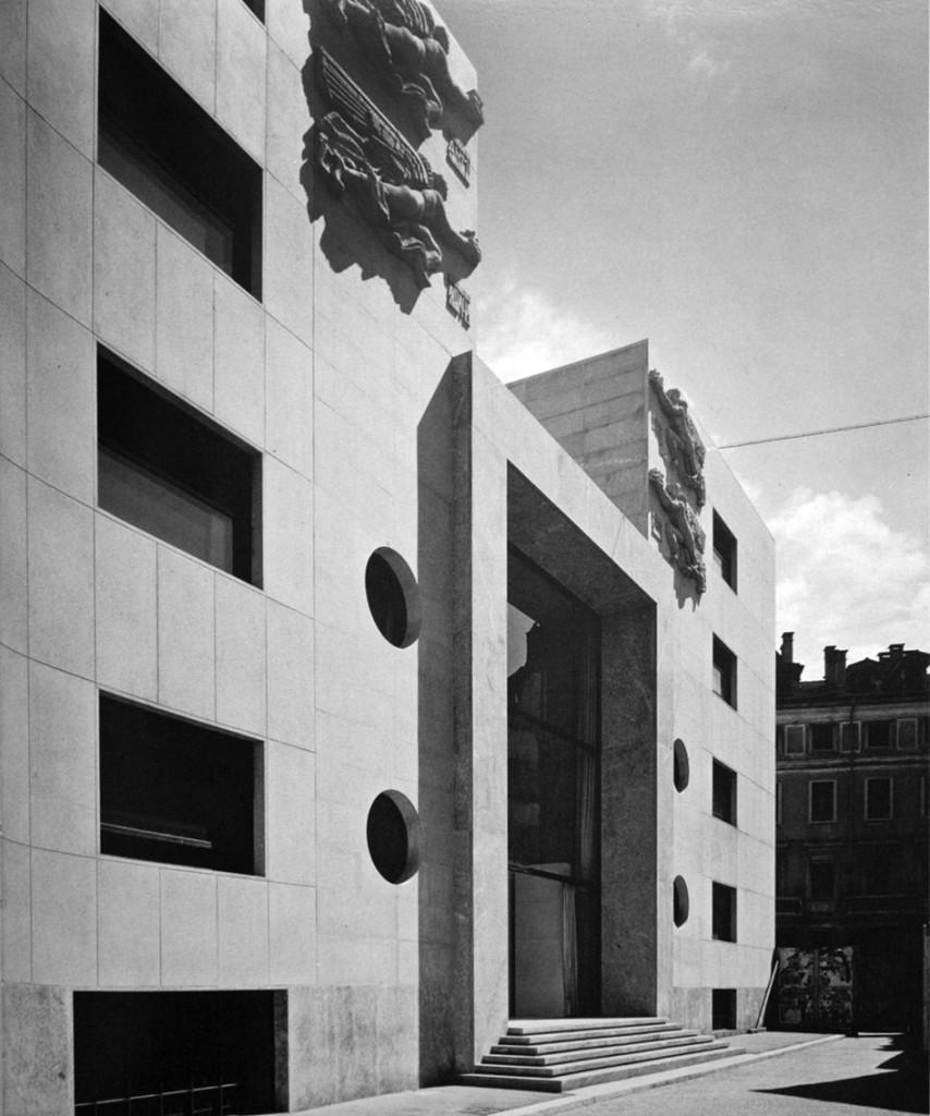 Sede della Federazione dei fasci milanesi, piazza San Sepolcro 9, via Valpetrosa 2, via Fosse Ardeatine 4, 1935-1940