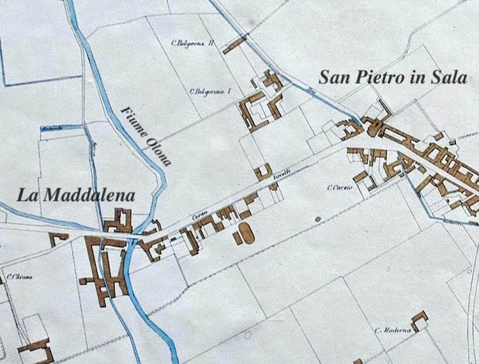 Borgo di San Pietro in Sala e La Maddalena