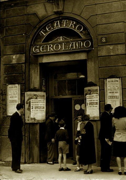 Ingresso Teatro Gerolamo 1940