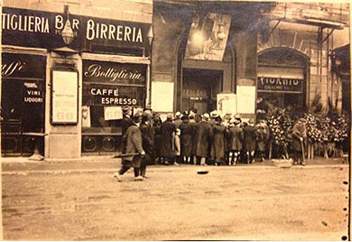 Ingresso del Teatro Gerolamo 1900