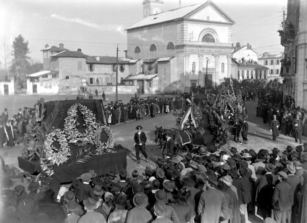 San Pietro in Sala Funerali di Verdi, 1901