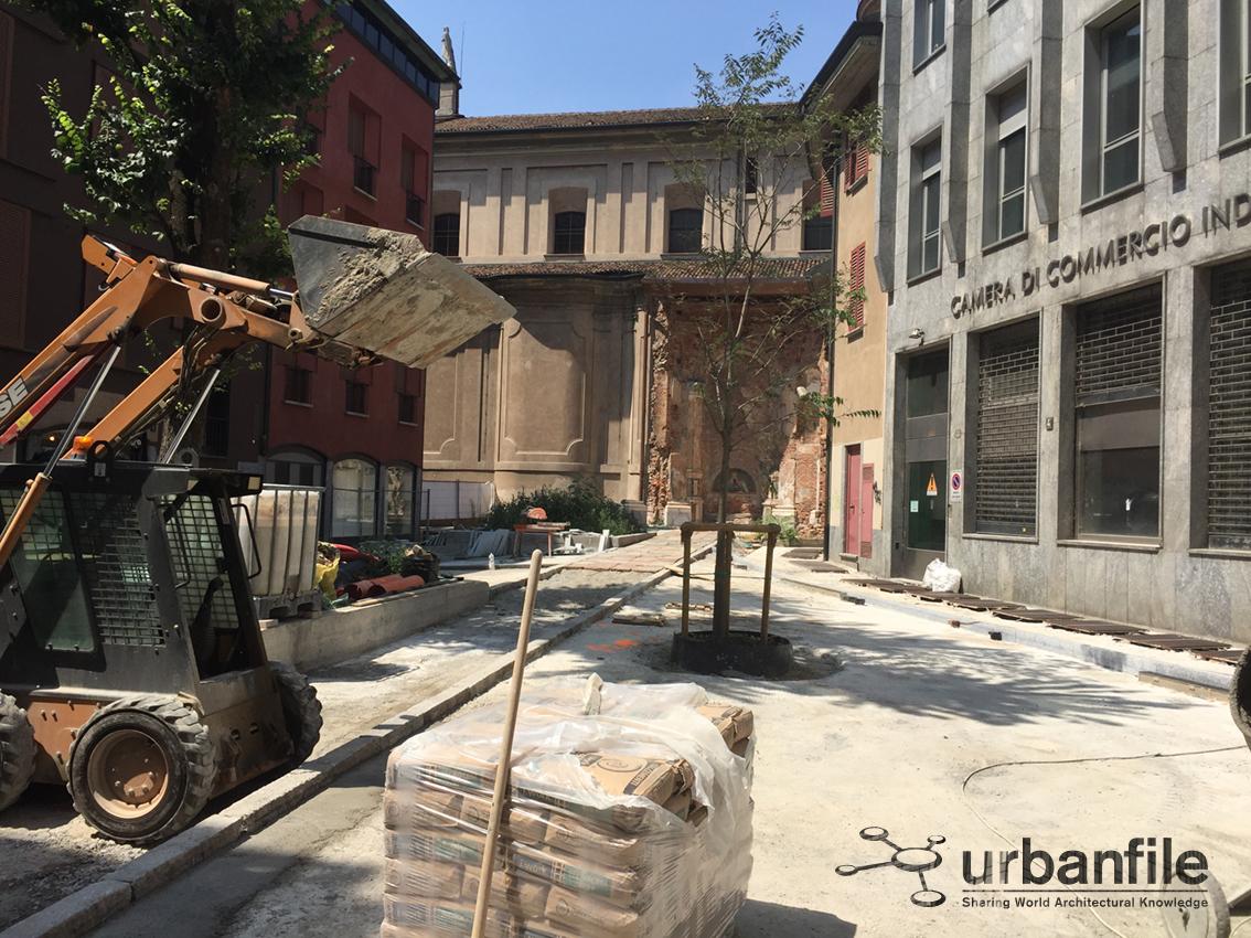Milano porta magenta piccoli e grandi interventi nel for Vie di milano