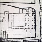 Planimetria della chiesa di Santa Maria delal Scala 1600