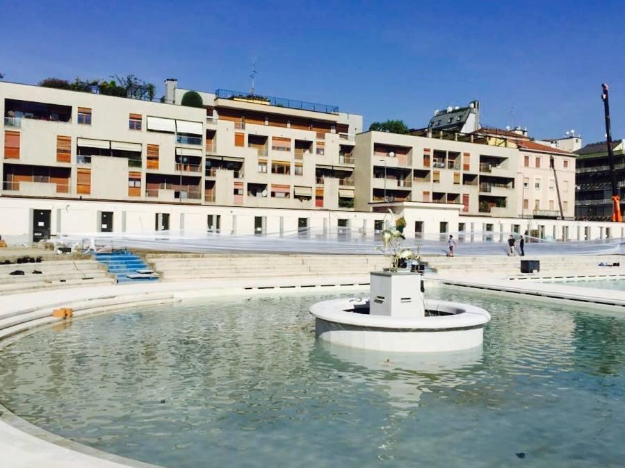 Milano porta romana il cantiere alla piscina caimi - Piscina porta romana milano ...