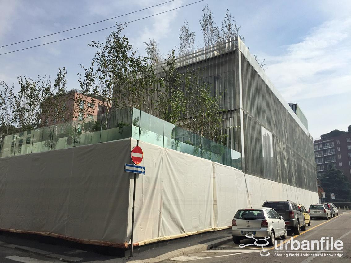Zona Porta Romana - La sede Rolex in Via Filippetti ...