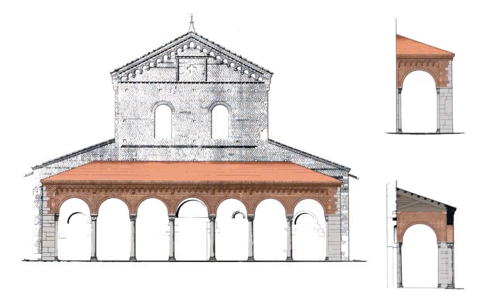 Milano porta genova la casa del mago la basilica e la for Casa del merluzzo del capo con portico