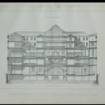 1890 - La Rinascente progetto - Alle Città d'Italia, stampe da incisione B