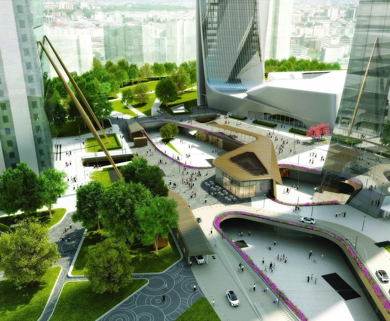 Zona Tre Torri - Accordo per lo Shopping District a CityLife ...