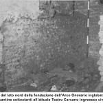 Crocetta - Lato del basamneto dell'Arco Romano 3