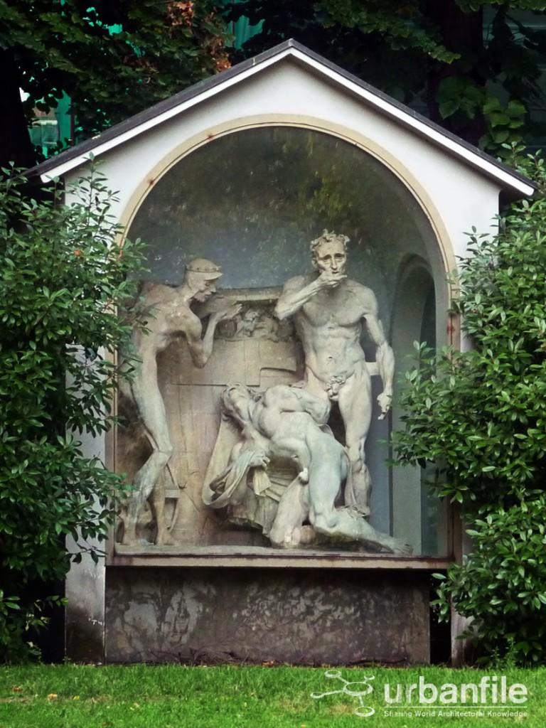 Fontana Trilogia Adolfo Wildt Palestro 1